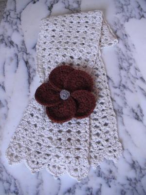 ohana scarf on table