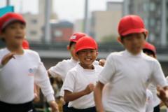 金沢市 中村町小学校 マラソン大会