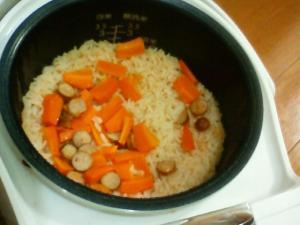 キムチ炊き込みご飯