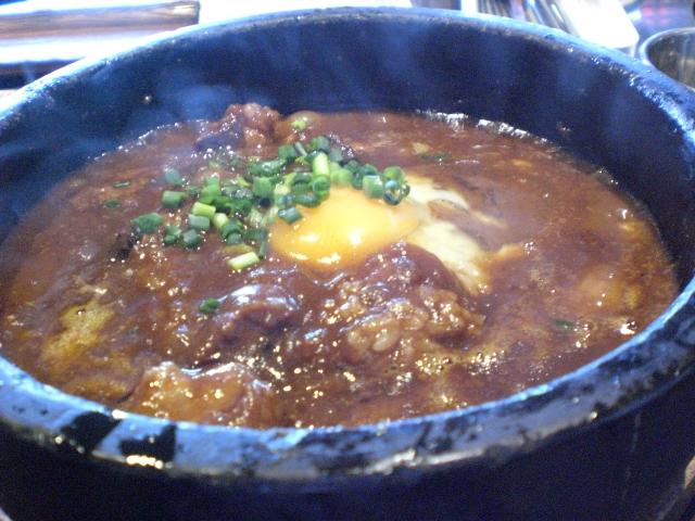 """カレーエッグ-お台場の韓国料理""""醍醐"""""""