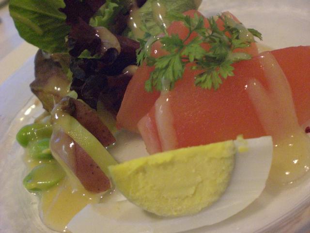 ゆで卵-BlueAsterのサラダ