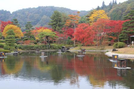 翠楽苑の秋