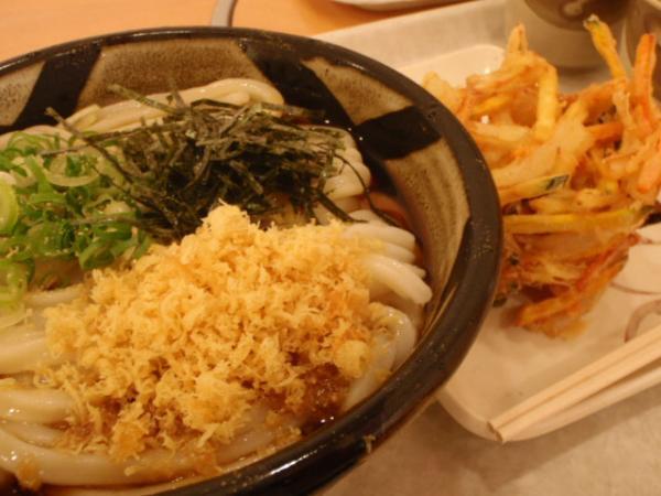 ぶっかけに天ぷらって実は食べにくい!?