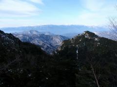 南アルプス連峰