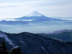 富士山もきれい