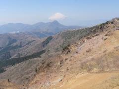 明神ヶ岳頂上