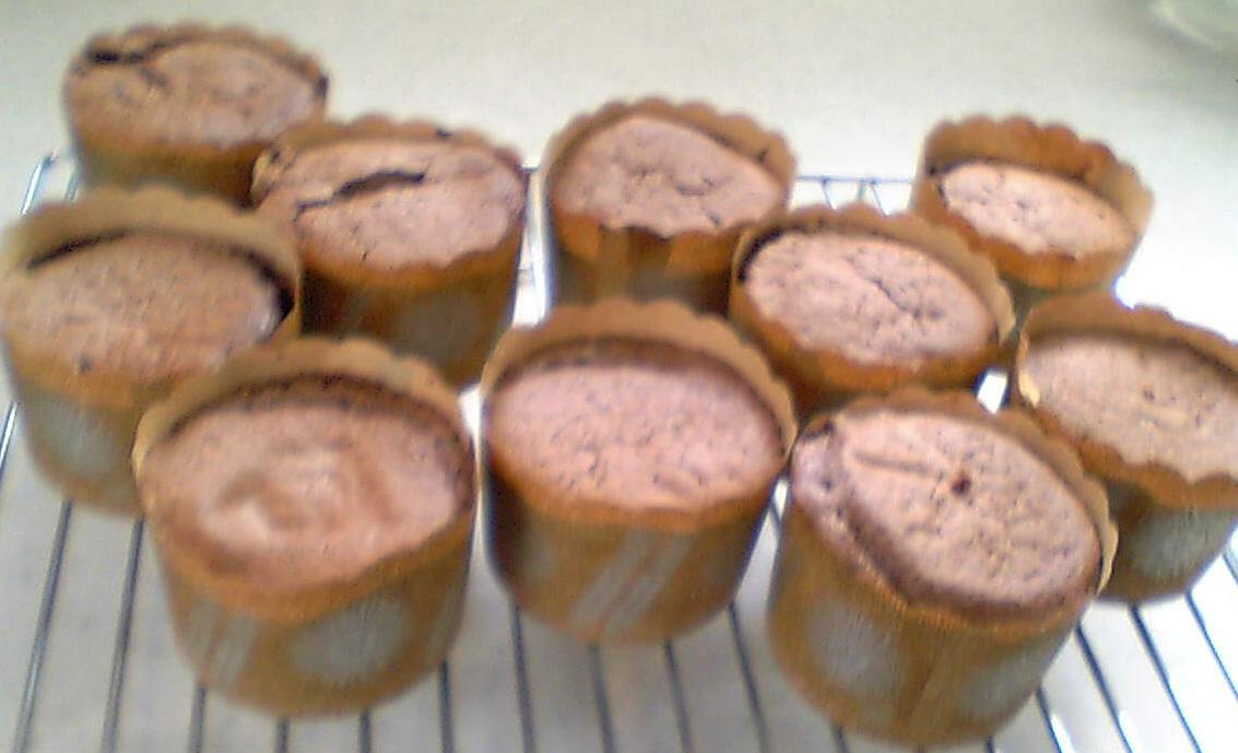 チョコカップケーキ1