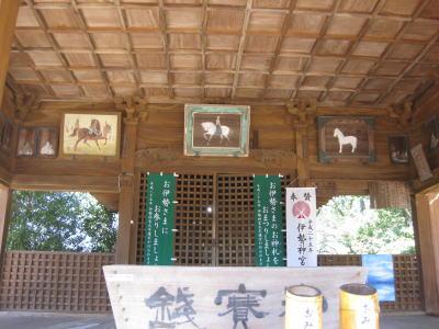 岡山神社本堂