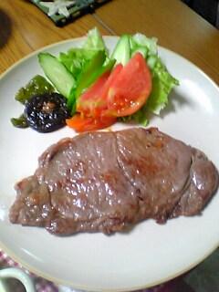 どけっちゃんとこの長崎牛ステーキ