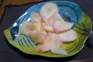 デザートは 桃
