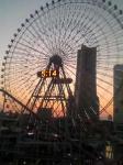 喫煙ルームからの景色♪夕焼けが綺麗♪♪♪