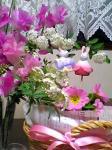 3月に入ったら桃の花買ってきましょう♪