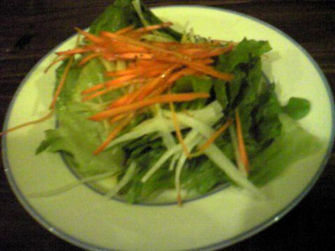 しゃきしゃき いつもチェロキーの野菜は美味しい^^