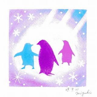 63.輝くペンギン