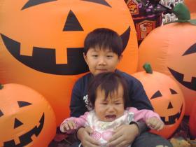 2009 ハロウィン兄妹で