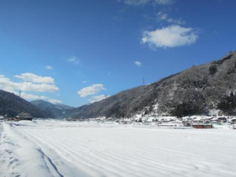 匹見町雪景色2