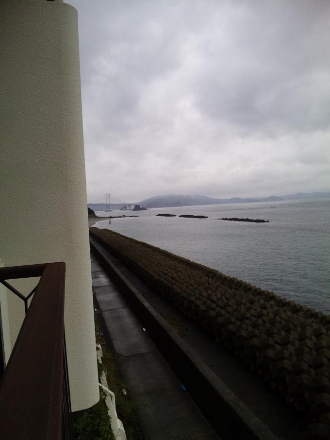 部屋からの大鳴門橋