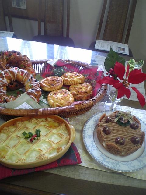 パン教室クリスマス特別講習 12月20日