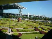 バンコク空港のお庭