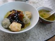 龍記招聘ワンタン「雙拼撈麺」