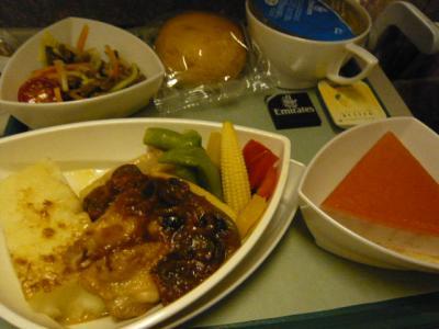 エミレーツ航空「成田→ドバイ」7
