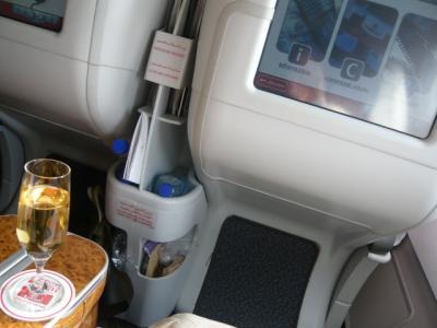 エミレーツ航空「ドバイ→カサブランカ(ビジネス)」1