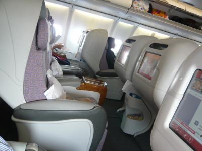 エミレーツ航空「ドバイ→カサブランカ(ビジネス)」2
