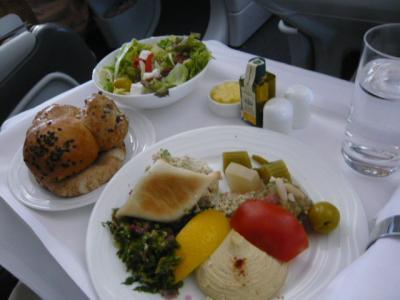 エミレーツ航空「ドバイ→カサブランカ(ビジネス)」11