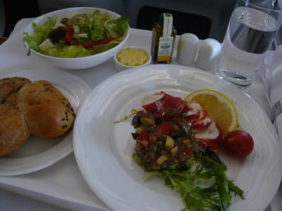 エミレーツ航空「ドバイ→カサブランカ(ビジネス)」12