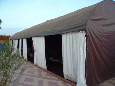 モロッコ・マラケシュ「Hotel El Kennaria」5