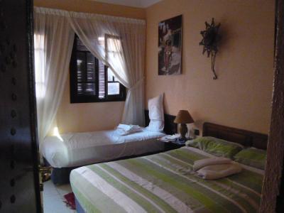 モロッコ・マラケシュ「Hotel El Kennaria」9