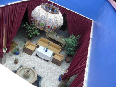 モロッコ・マラケシュ「Hotel El Kennaria」3