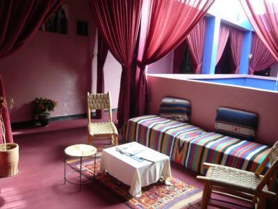 モロッコ・マラケシュ「Hotel El Kennaria」4