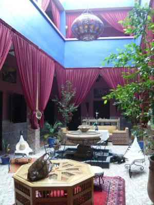 モロッコ・マラケシュ「Hotel El Kennaria」1
