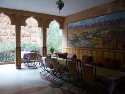 モロッコ・ダデス渓谷「Hotel du Vieux Chateau du Dades」4