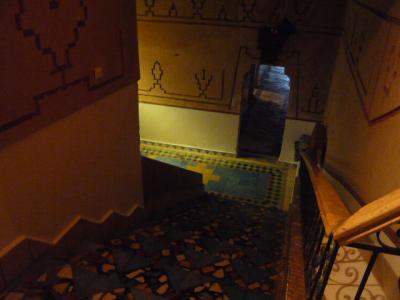 モロッコ・ダデス渓谷「Hotel du Vieux Chateau du Dades」13