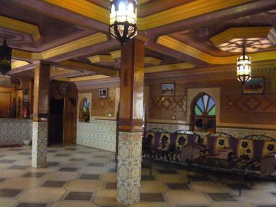 モロッコ・ダデス渓谷「Hotel du Vieux Chateau du Dades」2