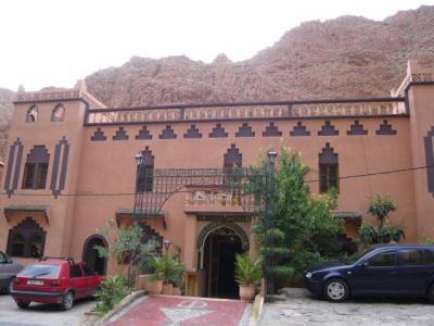 モロッコ・ダデス渓谷「Hotel du Vieux Chateau du Dades」1