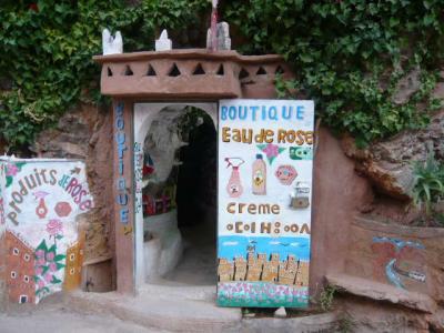 モロッコ・ダデス渓谷「Hotel du Vieux Chateau du Dades」15
