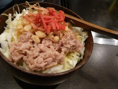 根津「もんじゃ・お好み焼き ねづ味」2