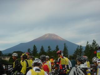 エコサイでの富士山