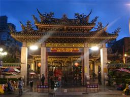 旅行・台湾・龍山寺・正門