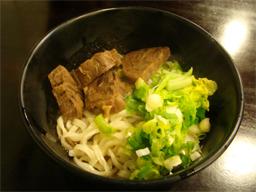 旅行・台湾・玖伍牛肉麺・汁なし牛肉麺