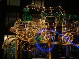 2007・クリスマス・イルミネーション・汐留・旧新橋停車場・列車