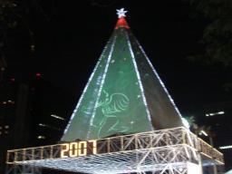 2007・クリスマス・イルミネーション・日比谷・日比谷公園・大きな木