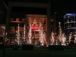 2007・クリスマス・イルミネーション・丸ノ内・東京ビル TOKIA