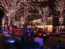 2007・クリスマス・イルミネーション・丸ノ内・仲通り