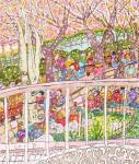 東京競馬場のお花見