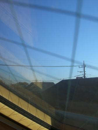 天窓からの眺め