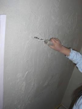 子供たち 壁塗り体験3